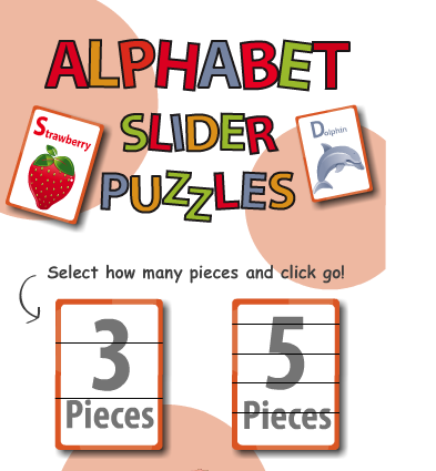 Alphabet slider puzzle