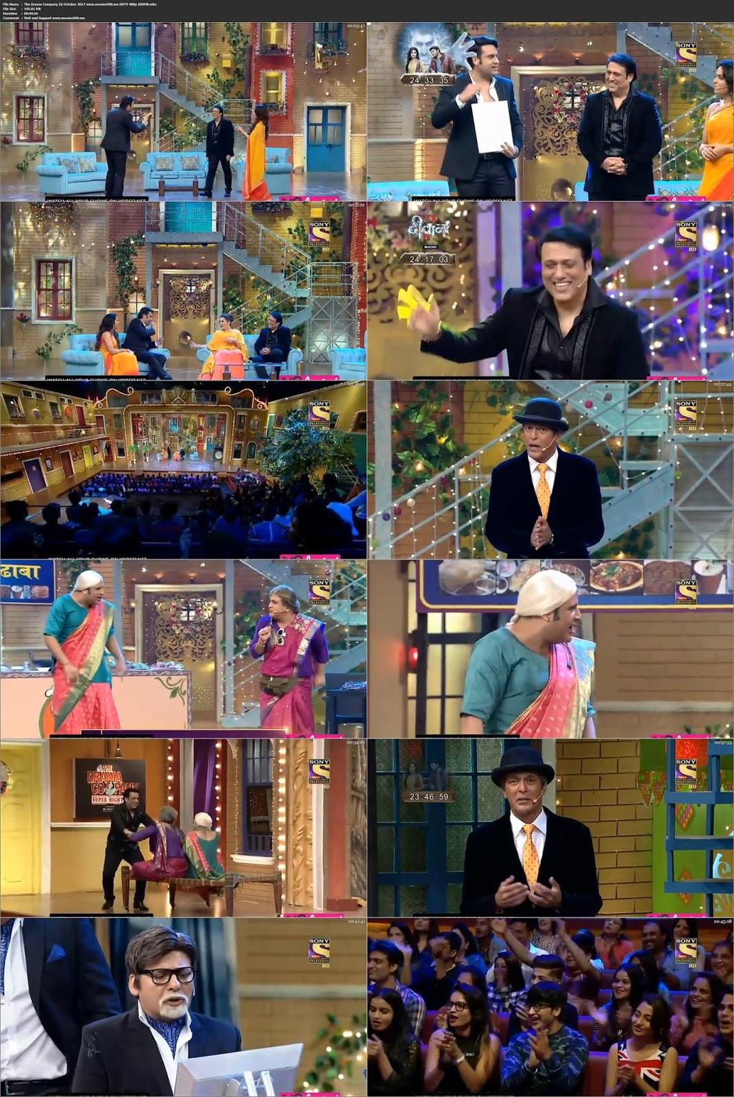 The Drama Company 22 October 2017 Full Show 195MB HDTV 480p at chukysogiare.org