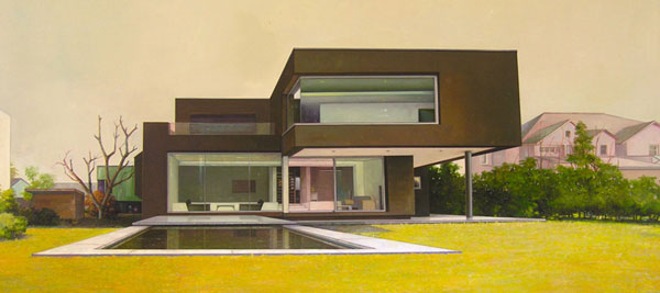 Paintings by Jens Hausmann