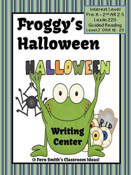 Fern SMith's  0 0 inShare Froggy's Halloween Writing Center for Common Core