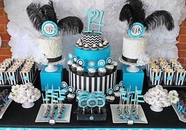 Tuesday  April 30. Amanda s Parties To Go  Monogram Birthday Party   Madison s 14th