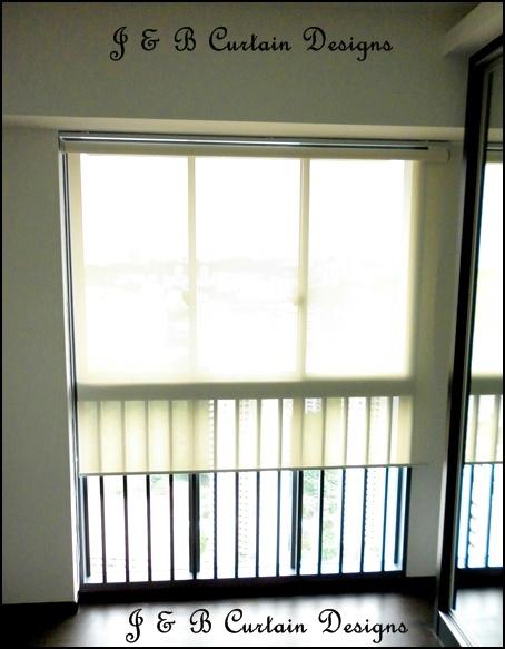 J B Curtain Designs Roller Blinds So Convenient