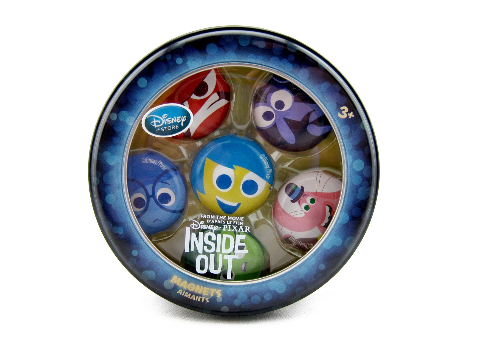 dan the pixar fan inside out disney store magnet set. Black Bedroom Furniture Sets. Home Design Ideas