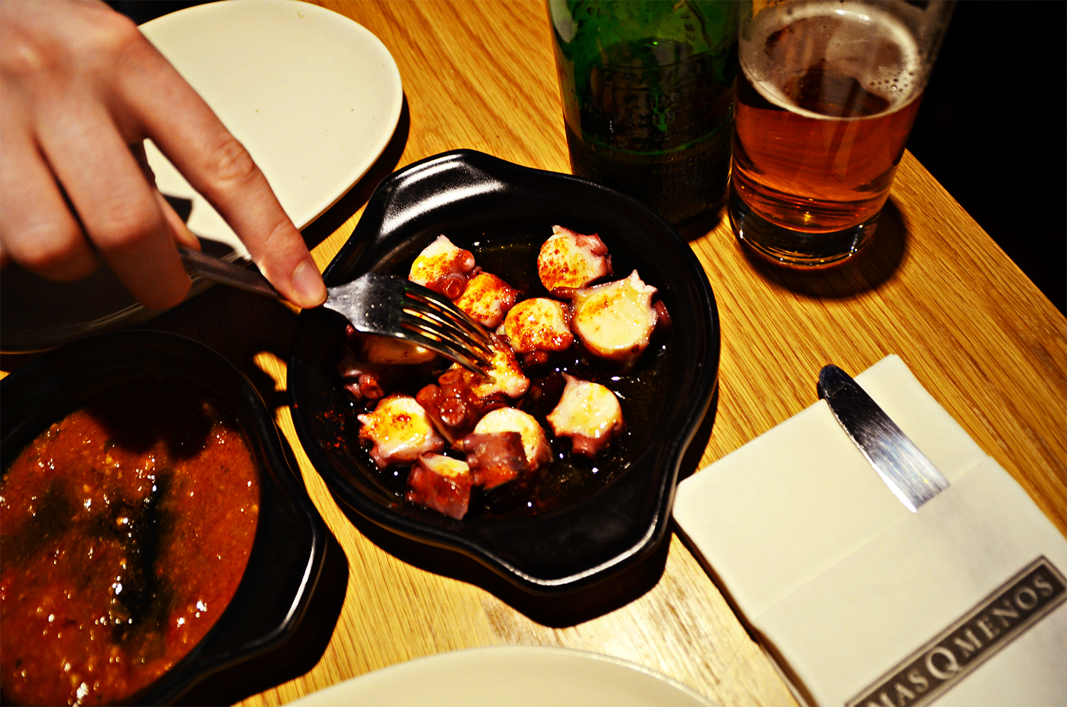 Galican Style Octopus, Spanish Cuisine Review in London