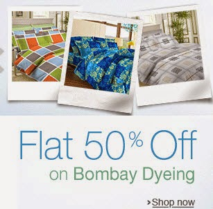 Bombay Dyeing Bedsheets 50% Off From Rs. 299 @ Amazon