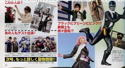 "Go-Busters V-cinema, ""Tokumei Sentai Go-Busters VS Dobutsu Sentai Go-Busters"". 483799_595206673840340_1405642105_n"