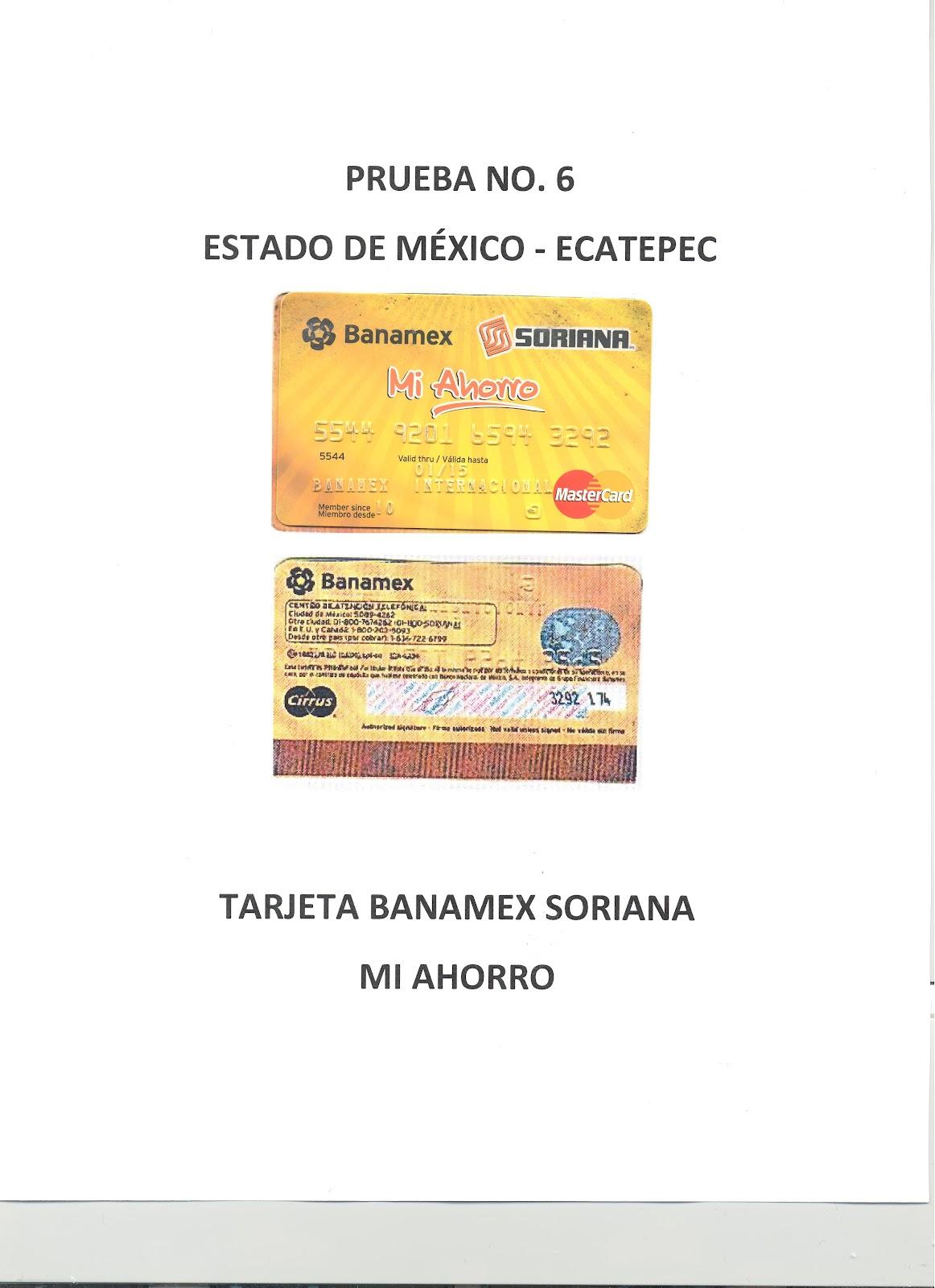 Tipos de Tarjetas de Creditos Tipos de Tarjetas Soriana