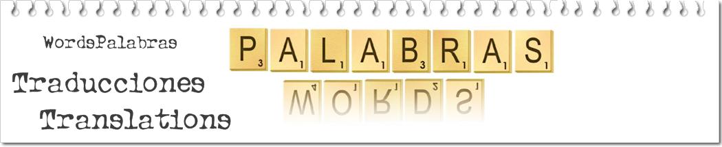 Traducciones Words-Palabras