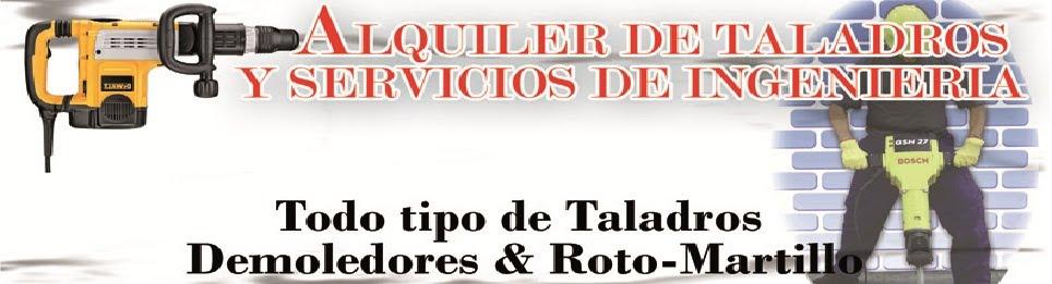 Alquiler de Taladros & Equipos de Ingenieria