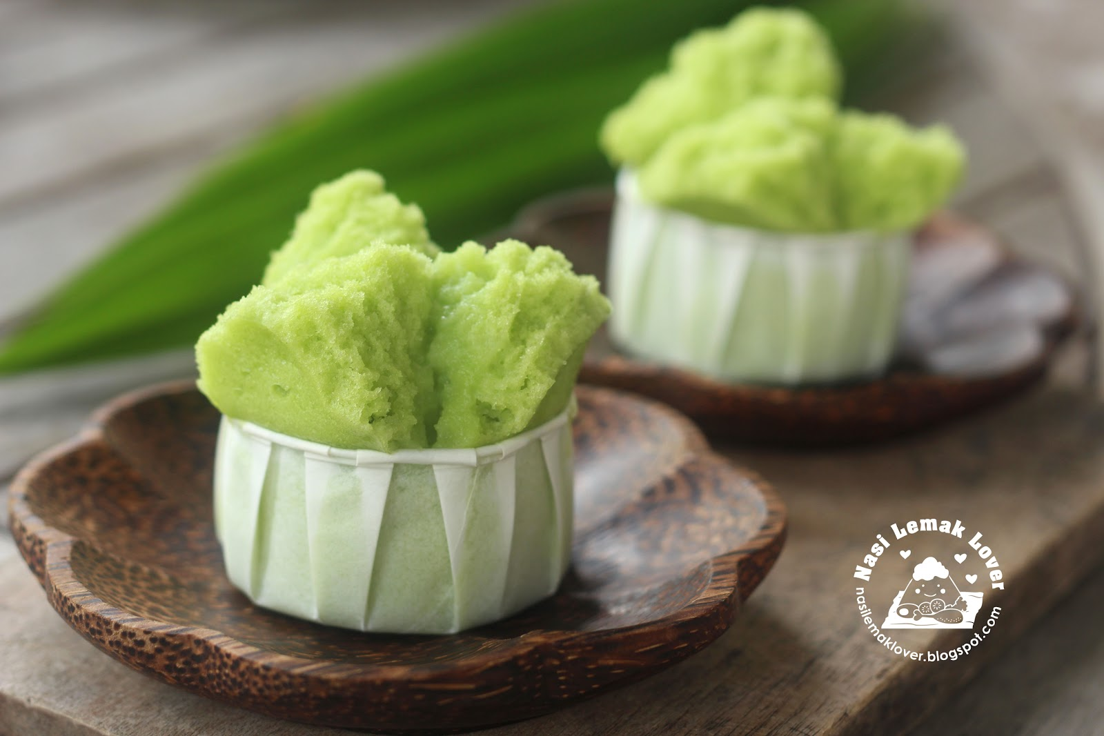 Steam Cake Recipes Pictures : Nasi Lemak Lover: Pandan Huat Kueh (Chinese steamed cake) ????