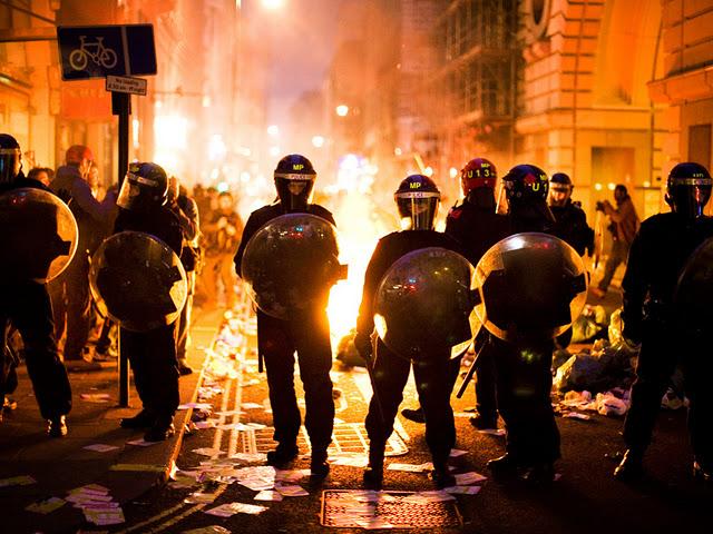 英國倫敦暴動