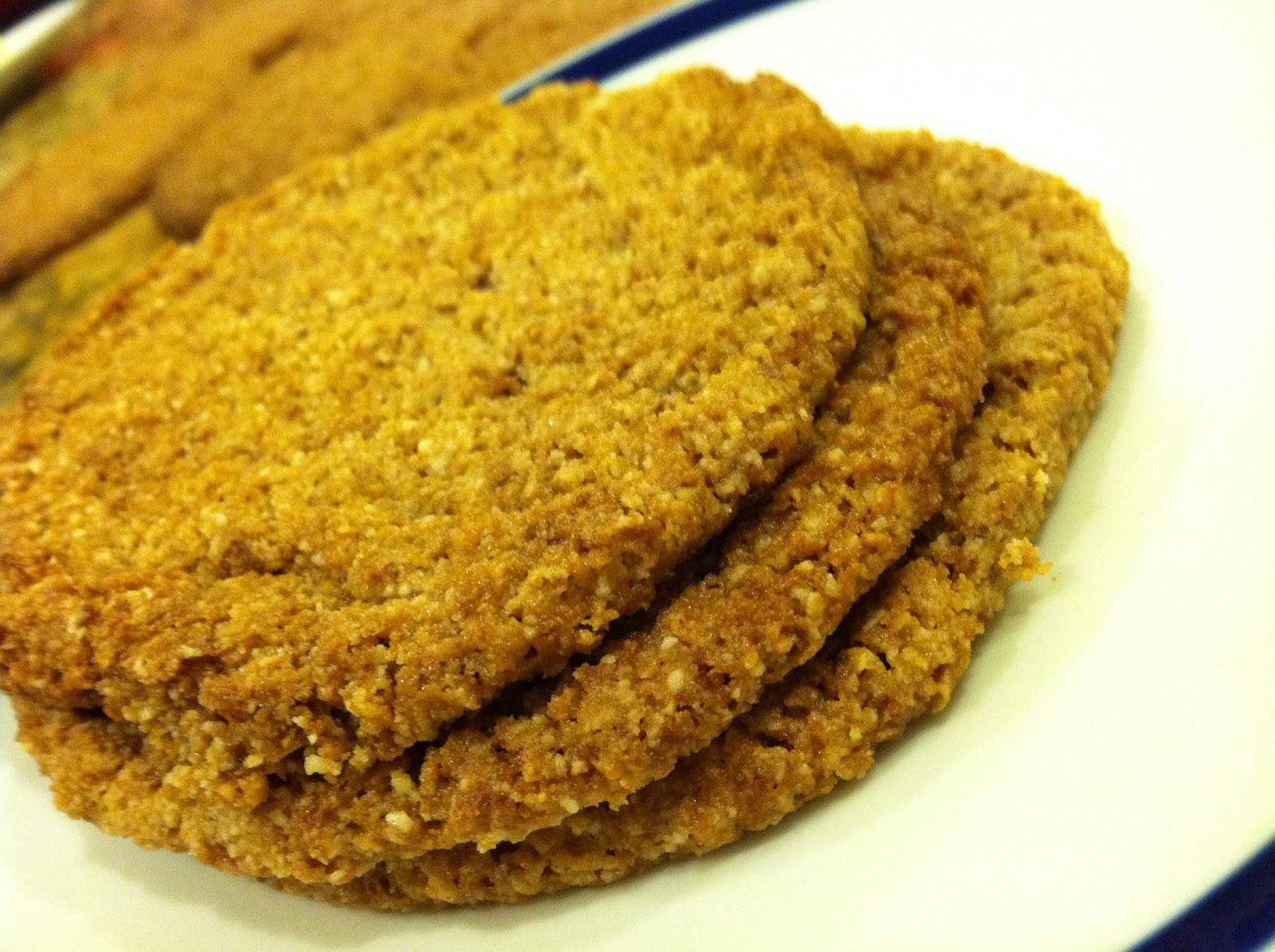 ... Chewy Almond Butter Cookies (Perfect for Paleo Ice-Cream Cookie