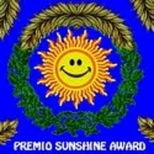 Sunshine Award ¡el tercero!