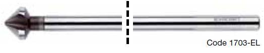 Mũi khoét loe HSS 90 độ DIN 335C loại siêu dài