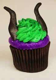 Cupcakes de Malefica
