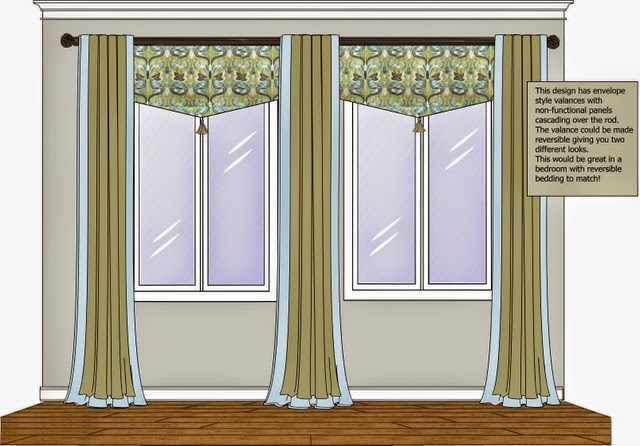 Stacey 39 s exciting design ideas different window treatment for Different window designs