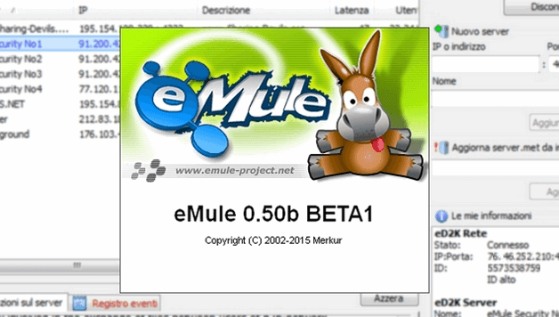emule 0.50b BETA1