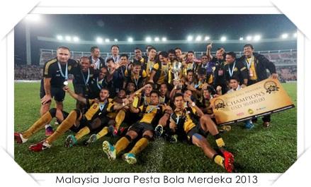 harimau muda Juara Pesta Bola Merdeka 2013 , malaysia menang pesta bola 2013 , malaysia menentang myanmar , juara pesta bola merdeka 2013