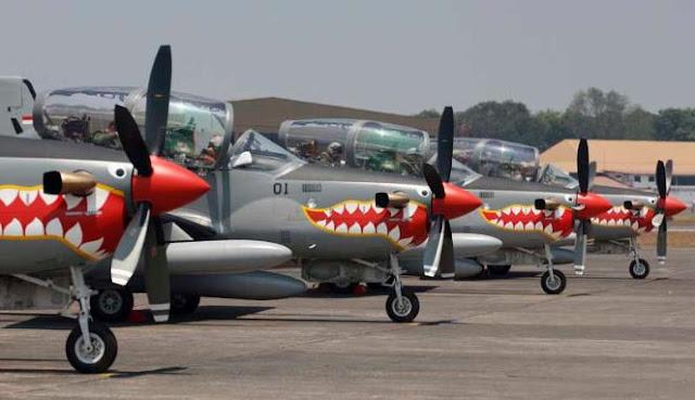 Bulan Agustus TNI AU Terima Tambahan Empat Pesawat Latih Super Tucano dari Brazil