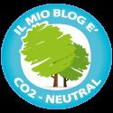 Il mio blog è a impatto zero
