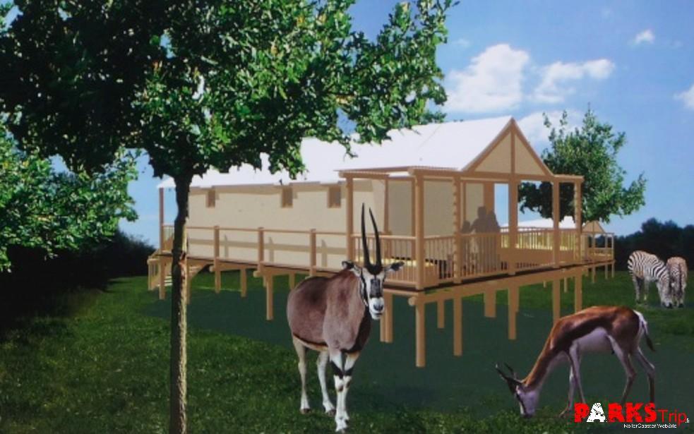parks trip le pal ouvrira en 2013 son premier h tel lodges. Black Bedroom Furniture Sets. Home Design Ideas