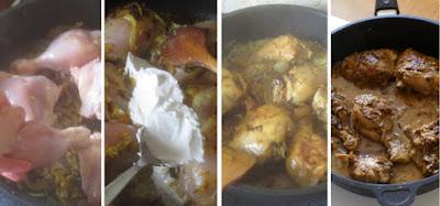 Zubereitung Chicken Korma - Hähnchen Korma