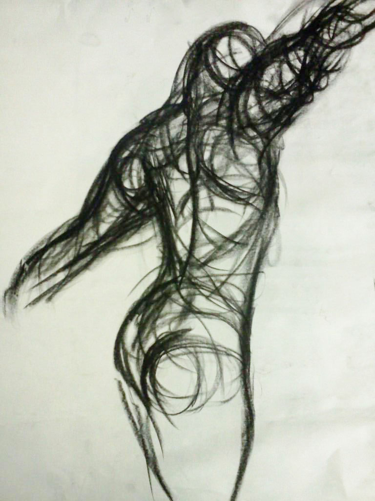 Scribble Gesture Drawing : Drawing sp gesture drawings