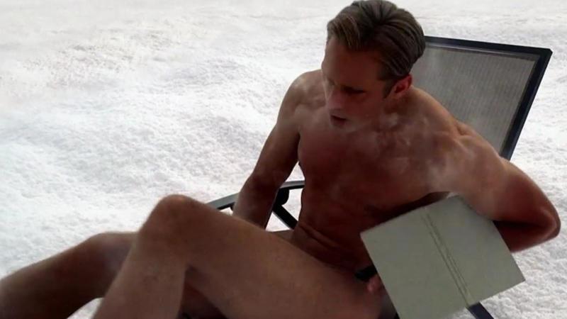 Alexander Kuzhel en estilo desnudo