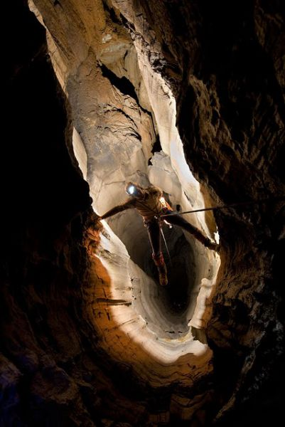 Krubera Cave Diagram Krubera Cave th...