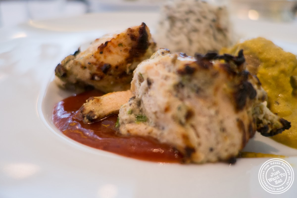 image of Murg Kali Mirch at Tamarind, Indian cuisine, in Tribeca, NYC, New York