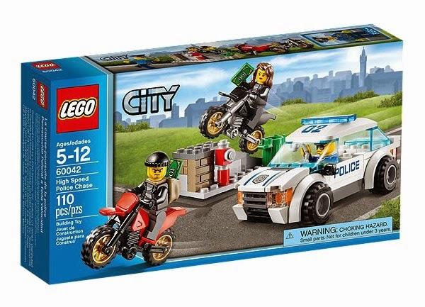 LEGO City High Speed Police Chase, Carcraft, LEGO car story