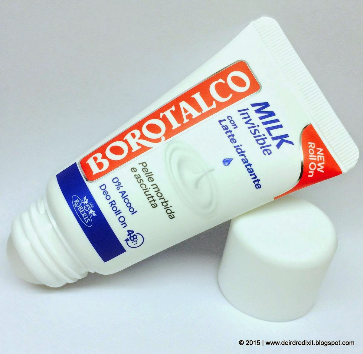 Borotalco Deodorante Milk Tubo Roll On