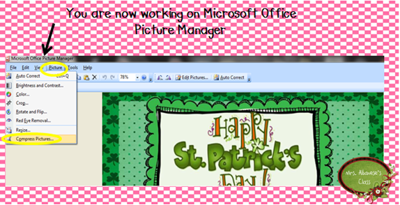 how to open picture using microsoft office picture manager