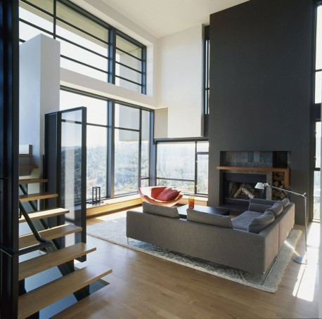Desain ruang tamu minimalis modern minimalist for Minimalist family