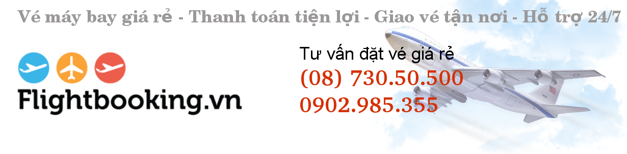 Vé máy bay giá rẻ Vietnam Airlines, Jetstar, Vietjet Air