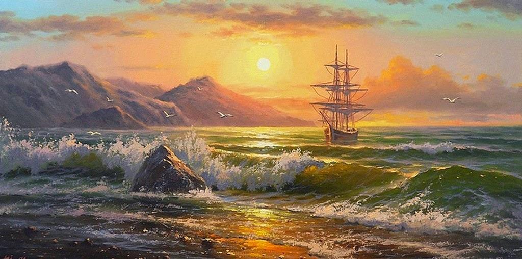 cuadros-de-barcos-al-oleo
