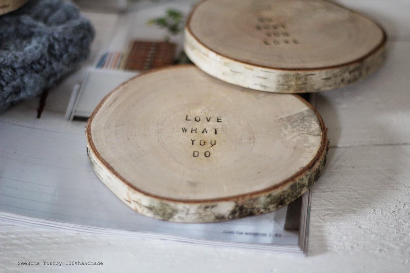 Czary z drewna,Love,Stół