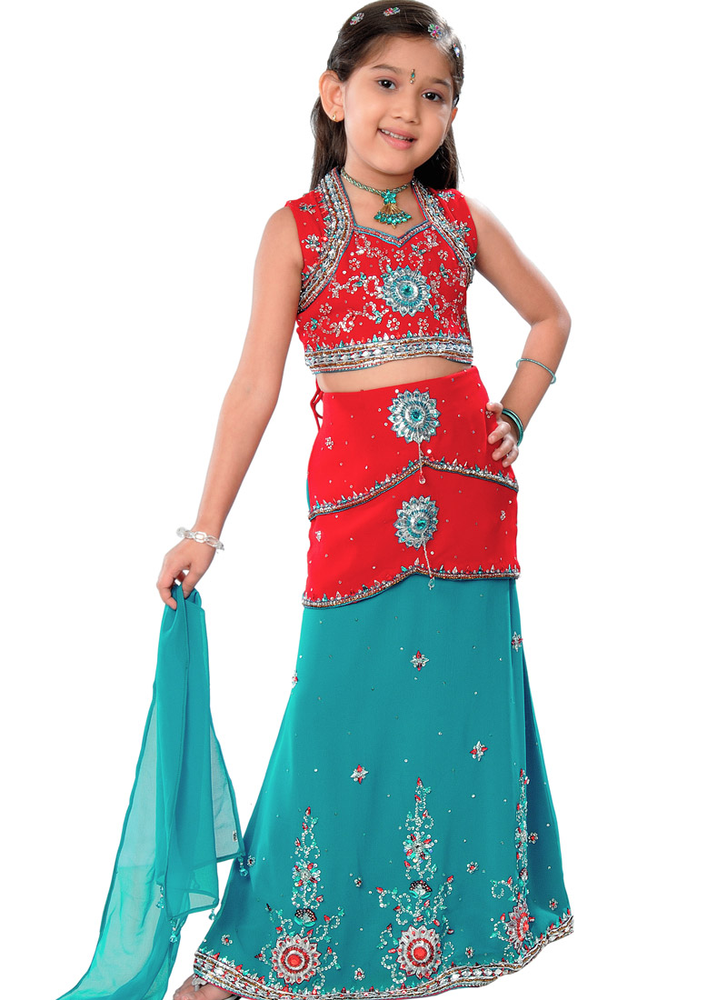 Mehndi Tattoos: indian kids dresses