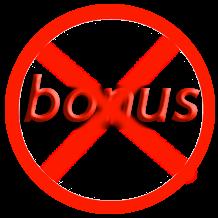 không bonus