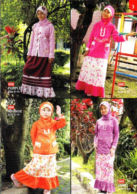 Baju Muslim Anak Salsa Kids Model Salsakids 1