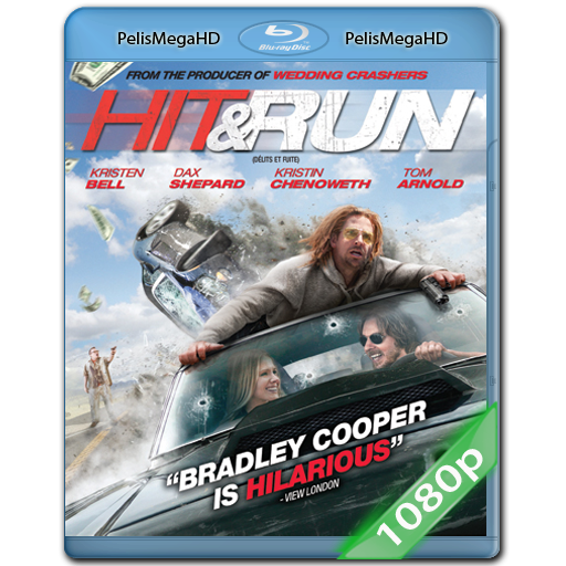 Hit And Run (2012) 1080P HD MKV ESPAÑOL LATINO