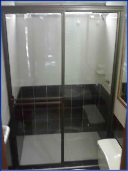 Cabinas De Baño Con Tina: transparente cortina plegable para tina de baño decoración delfines