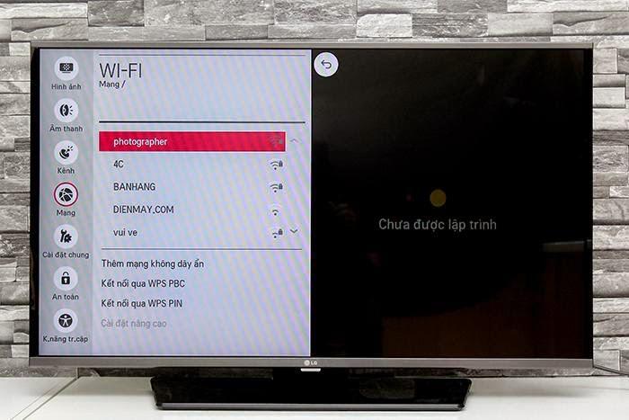 Chọn mạng Wifi bạn muốn kết nối