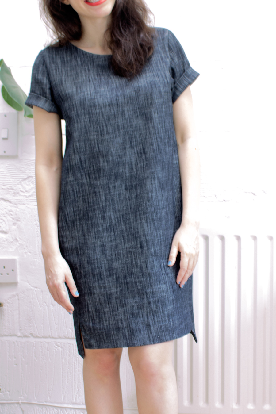 denim Inari tee dress Named Clothing