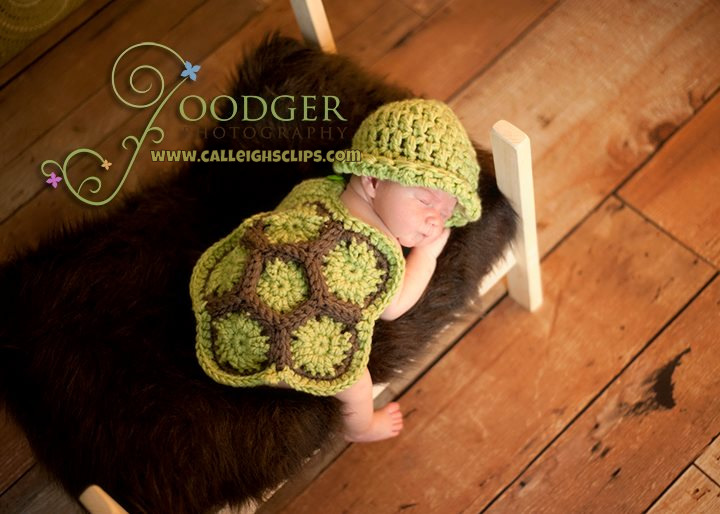 Free Crochet Pattern Turtle Photo Prop : Calleighs Clips & Crochet Creations: Free Pattern ...