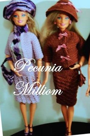 Barbie Moda - Col. 1 por Pecunia MM