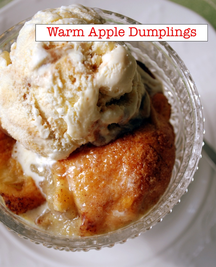 Old Fashioned Apple Dumpling Recipe HERE