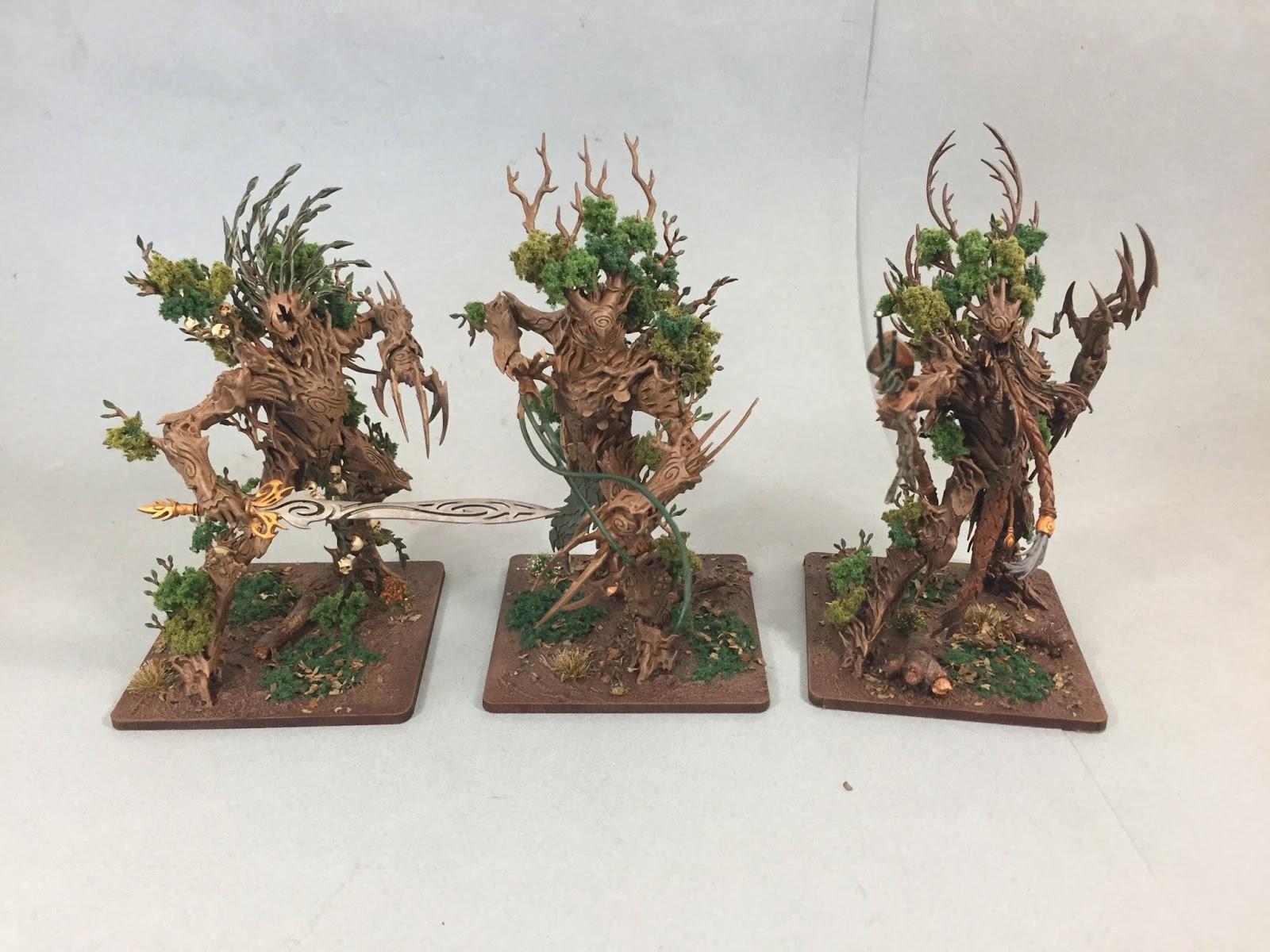 Itty Bitty Soldiers Kings Of War Tree Herders