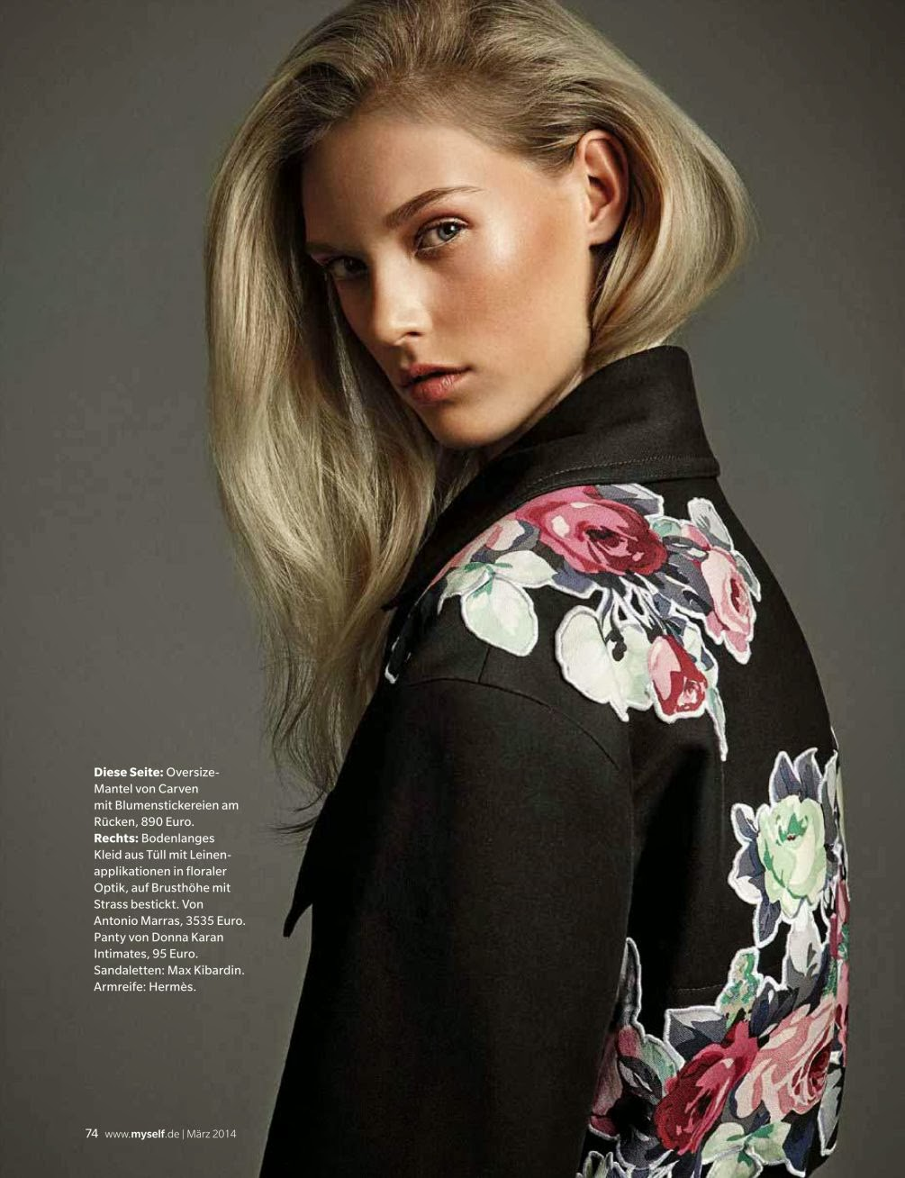 Charlene Hoegger HQ Pictures Myself Germany Magazine Photoshoot March 2014