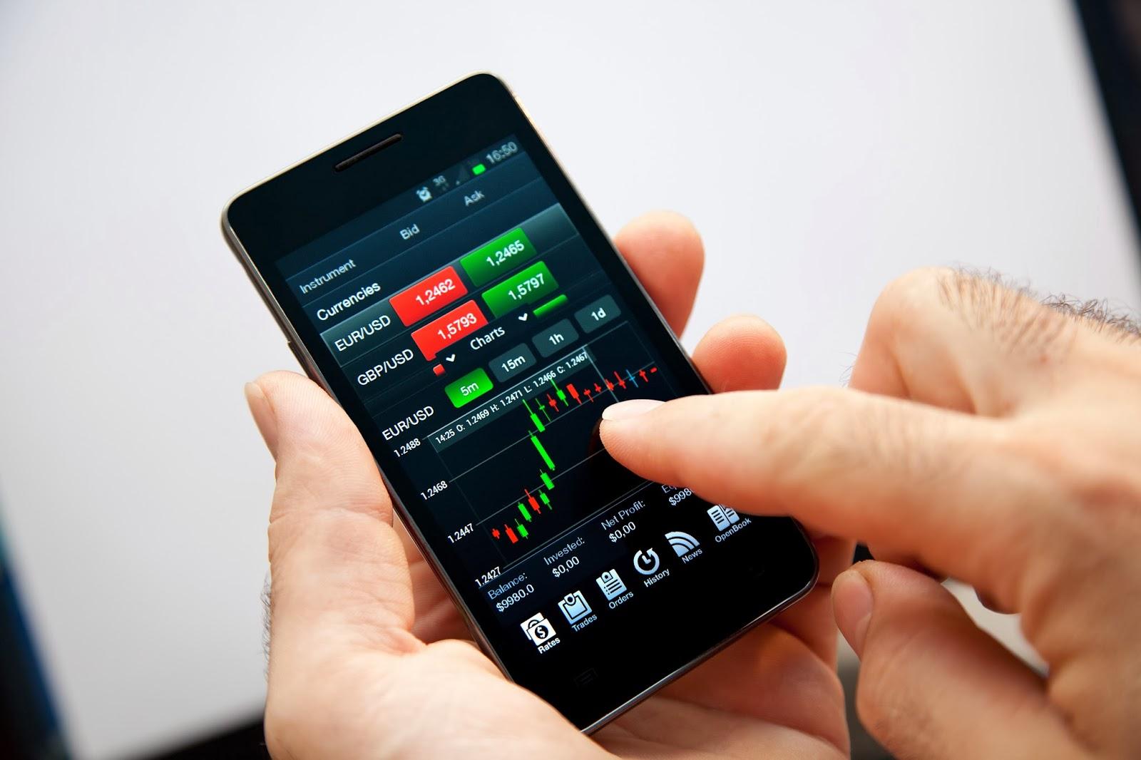Мобильные платформы бинарных опционов